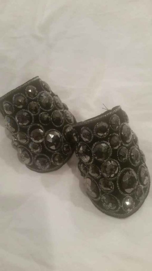 Black & Silver Cuff Set