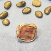 Pearlie Marble Ring