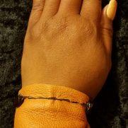 Cognac Leather Bracelet